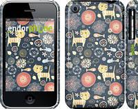 """Чехол на iPhone 3Gs Котята v4 """"1224c-34"""""""