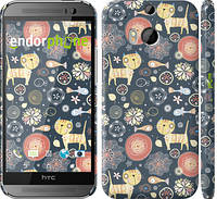 """Чехол на HTC One M8 dual sim Котята v4 """"1224c-55"""""""