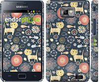 """Чехол на Samsung Galaxy S2 i9100 Котята v4 """"1224c-14"""""""