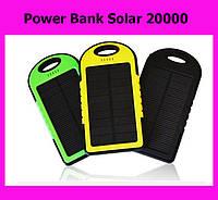 Power Bank Solar 20000