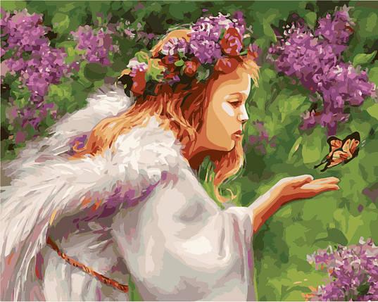 """Раскраска по номерам """"Поцелуй бабочки худ Бондарь Наталья """", фото 2"""