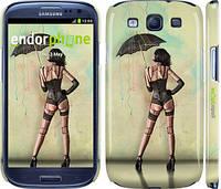 "Чохол на Samsung Galaxy S3 i9300 Дівчина з парасолькою ""751c-11"""