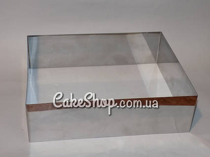 Форма для заливки и формовки десертов 18х18см, h-10см