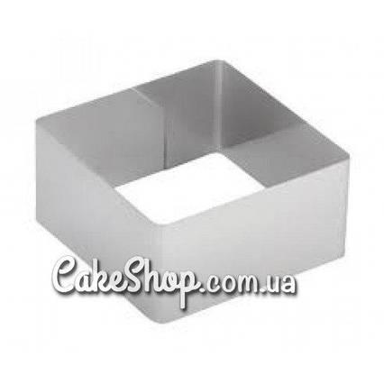 Форма для заливки и формовки десертов 20х20см, h-10см
