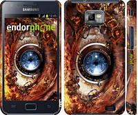 """Чехол на Samsung Galaxy S2 i9100 Механический глаз """"2867c-14"""""""