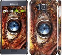 """Чехол на Samsung Galaxy Alpha G850F Механический глаз """"2867c-65"""""""