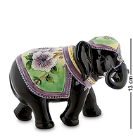 "Фарфоровая статуэтка ""Слон"" (Pavone) 13 см"