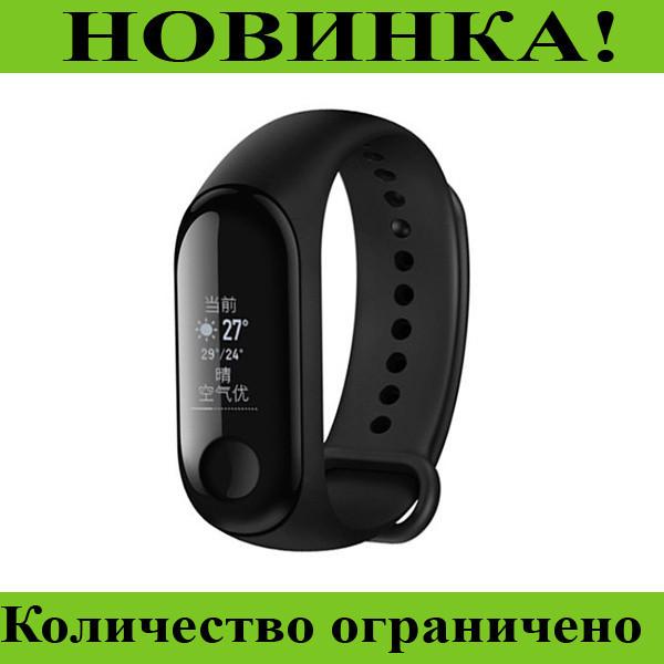 Smart Watch Mi BAND m3 black!Розница и Опт