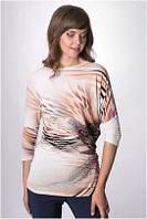 Блузка, кофточка, туника женская с длинным рукавом MIRABELLE