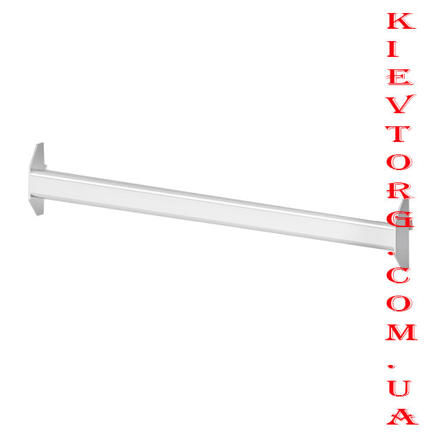Перемычка белая 1.2 м. Торговое оборудование для магазина одежды