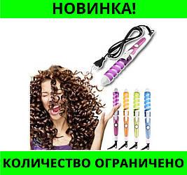 Плойка для волос Nova NHC 8558 спираль!Розница и Опт
