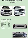 Комплект обвеса на Toyota Land Cruiser 200 Wald Black Bison Edition, фото 6