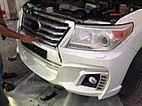 Комплект обвеса на Toyota Land Cruiser 200 Wald Black Bison Edition, фото 8