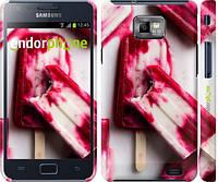 "Чехол на Samsung Galaxy S2 i9100 Мороженое на палочке ""2740c-14"""