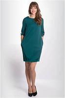 Платье женское до колена с рукавом 3/4 MIRABELLE