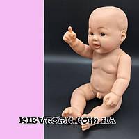 Манекен детский мальчик новорожденный пупс для магазина одежды выставочный, 45 см