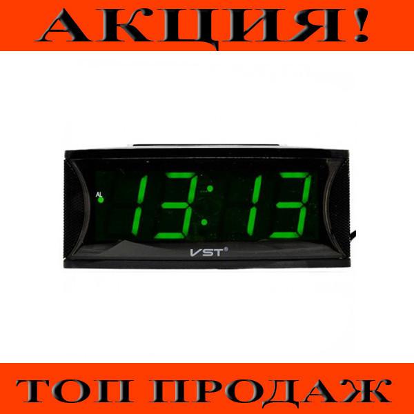 Настольные часы VST 719T-4 Зеленое табло!Хит цена