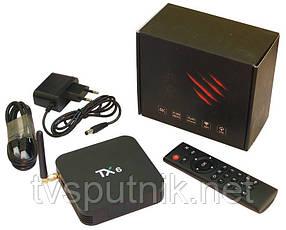 Смарт приставка TX-6 4/32G Smart TV Box (Allwinner H6, Android 9.0)
