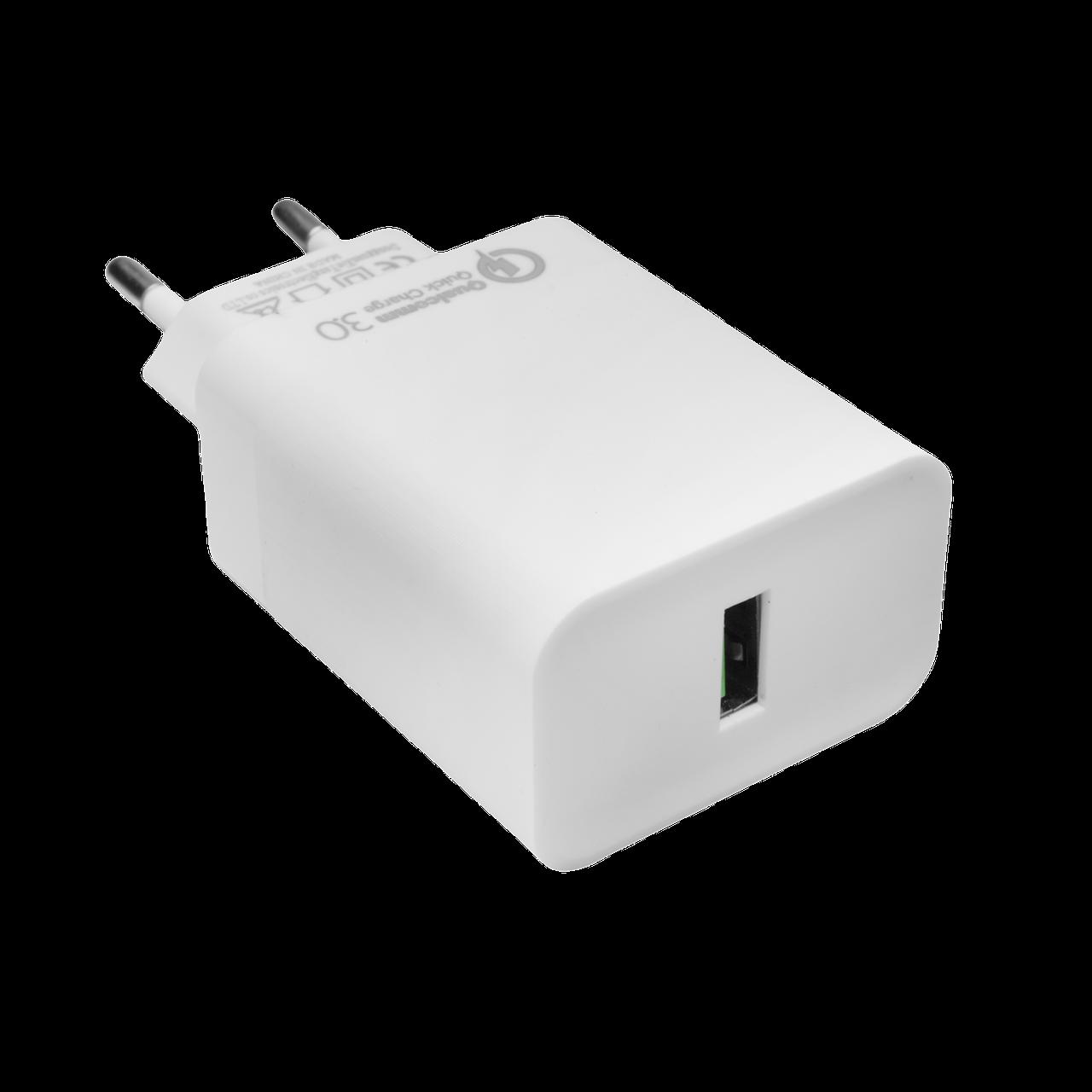 Быстрое зарядное устройство LP AC-011 USB 5V 3А Quick Charge 3.0 /OEM