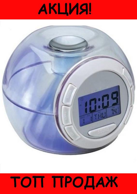 Часы c подсветкой Changing Light Alarm Clock!Хит цена