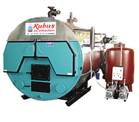 Паровой твердотопливный  котел SBKK 1088-1620 кг/час, 3 Бар
