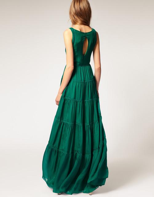 Платья макси снова в моде