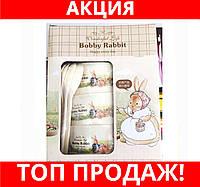 Набор детских тарелок Bobby Rabbit Wonderful Life МАЛЫЙ!Хит цена