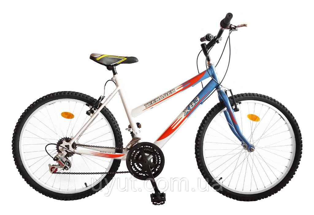 """Велосипед подростковый 24"""" TEENAGER модель 47"""