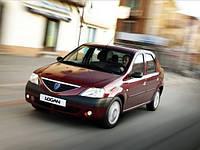 Лобовое стекло на Dacia/ Renault Logan