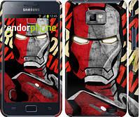"Чехол на Samsung Galaxy S2 i9100 Iron Man ""2764c-14"""
