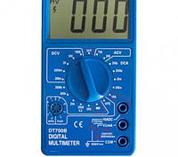 Мультиметр DT700B ручной переключатель пределов термопара, питание 9в Цифровой мультиметр тестер DT-700В