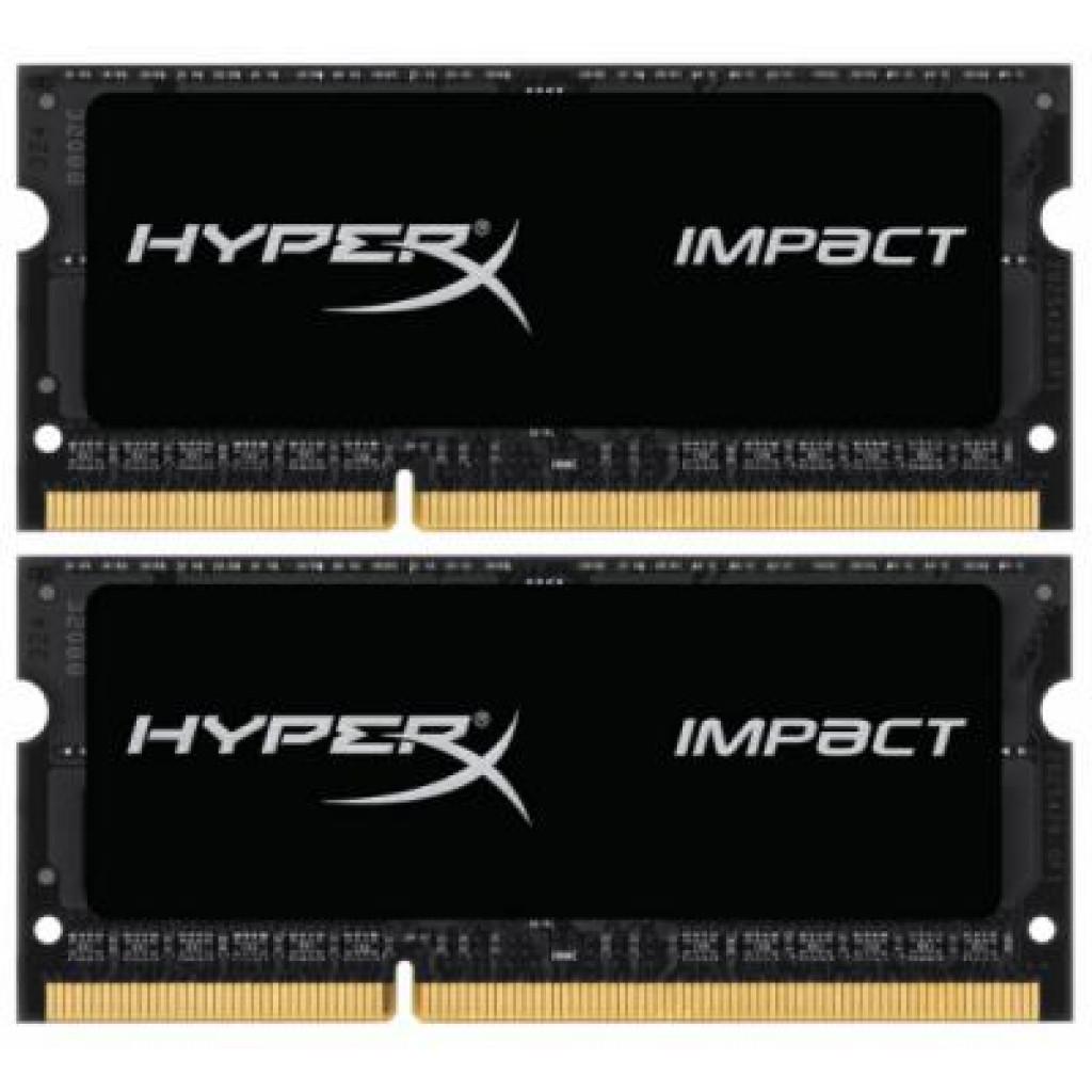 Модуль памяти для ноутбука SoDIMM DDR3L 16GB (2x8GB) 1600 MHz Kingston (HX316LS9IBK2/16)