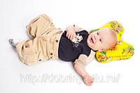 Детские ортопедические подушки оптом Бабочка для новорожденных