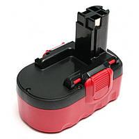 Аккумулятор к электроинструменту PowerPlant для BOSCH GD-BOS-18(A) 18V 1.5Ah NICD (DV00PT0032), фото 1