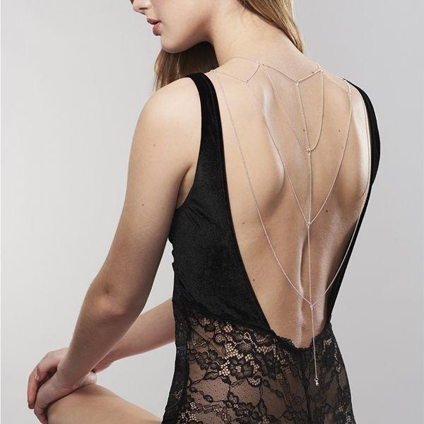 Прикраса для спини і декольте Bijoux Indiscrets Magnifique Back and Chain Cleavage
