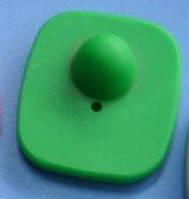Антикражный датчик для одежды зеленый