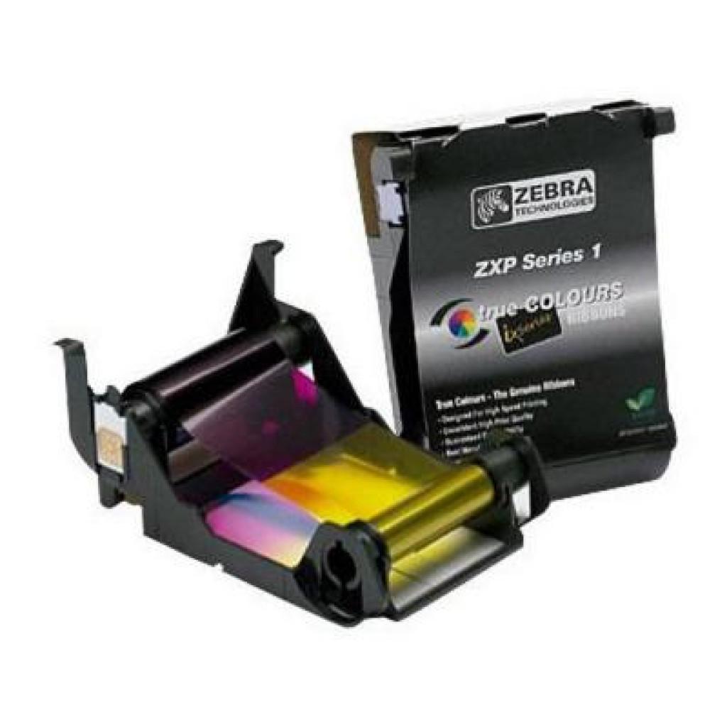 Риббон Zebra YMCKO только для P210i на 100 карт (800011-140)