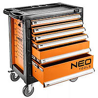 Тележка для инструмента Neo Tools 6 ящиков, 770x460x870 мм, грузоподъемность 200 кг (84-223)