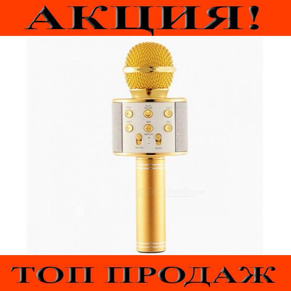 Микрофон Караоке WS858!Хит цена