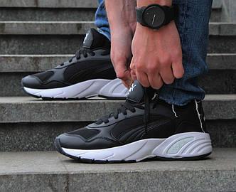 Оригинальные черные мужские кроссовки Puma CELL Viper 369505 05