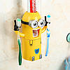 Держатель зубных щеток с дозатором для пасты Minions!Хит цена, фото 5