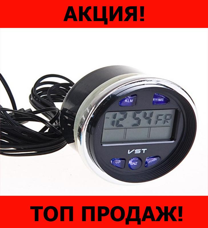 Часы автомобильные VST-7042V!Хит цена