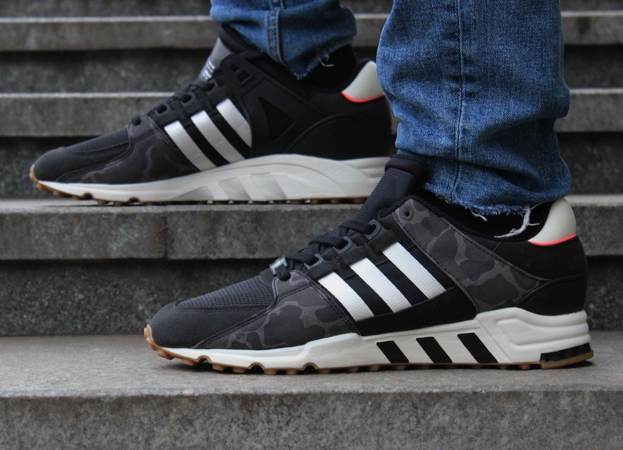 Оригинальные черные мужские кроссовки Adidas Equipment Support RF EQT BB1324