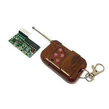 4-канальный беспроводной радиомодуль 2262/2272 ключ, пульт ДУ, Arduino
