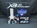 Светодиодная лампаLED X3 H1 Lumileds ZES 6000K 6000Lm, фото 2