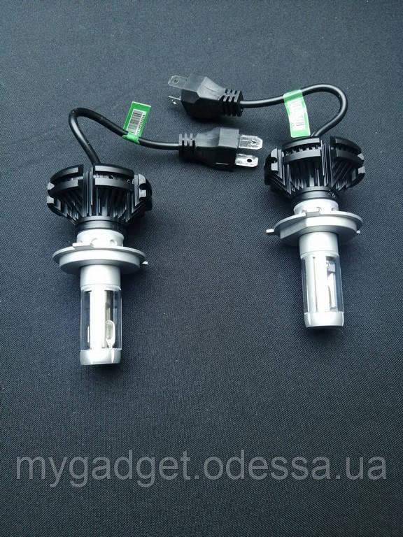 Светодиодная лампа LED X3 H7 Lumileds ZES  6000K 6000Lm