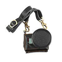 Кожаный футляр, чехол Shoot для камер GoPro Hero 5, 6, 7 (код XTGP391) - черный, фото 1