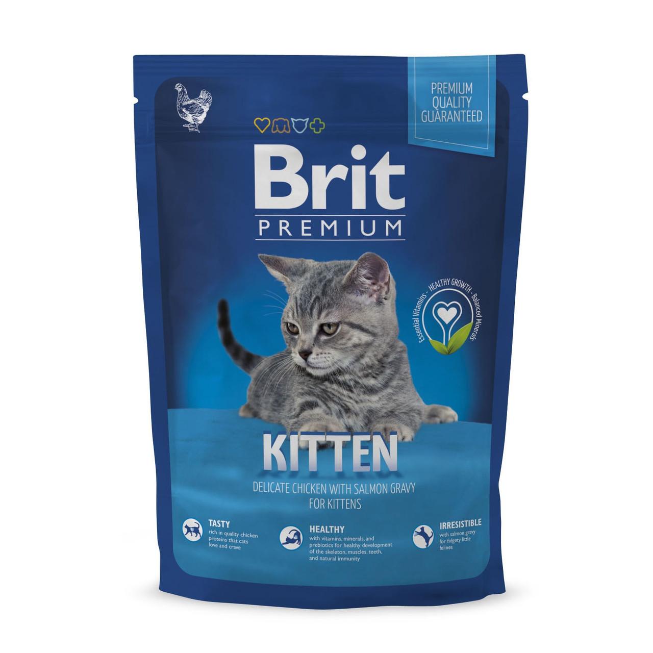 Корм для котят Brit Premium Cat Kitten 0,3кг