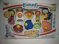 Игрушки набор погремушек. Погремушки для малышей.Детский набор игрушек погремушек для малышей.