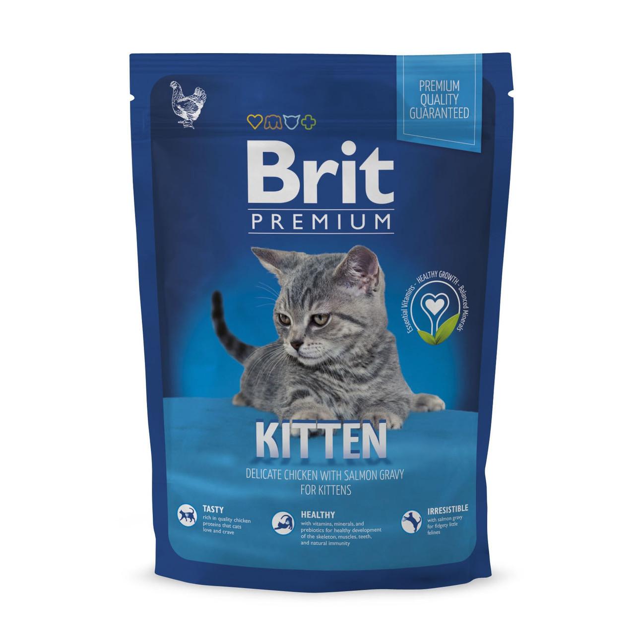 Корм для котят Brit Premium Cat Kitten 1,5кг